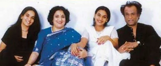 Rajinikanth Family INTERESTING INFO: SUPE...