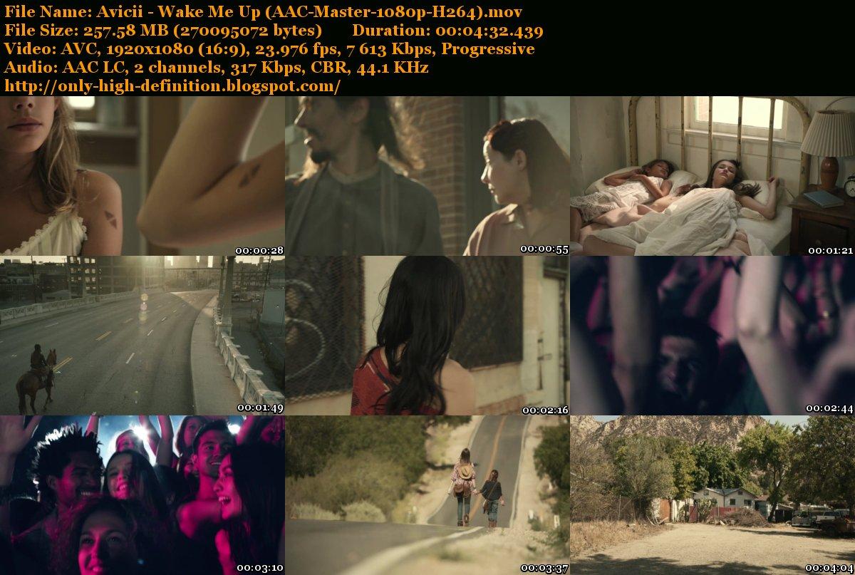 General : Avicii - Wake Me Up (AAC-Master-1080p-H264).mov