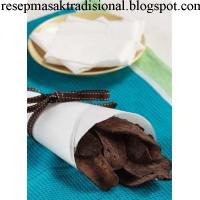 Resep Cara Membuat Kripik Pisang Coklat