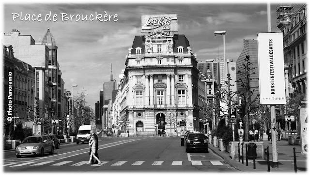 Mise en piétonnier des boulevards du Centre - Place de Brouckère - Place de la Bourse - Avant-projet 2014 - Ville de Bruxelles - Bruxelles-Bruxellons