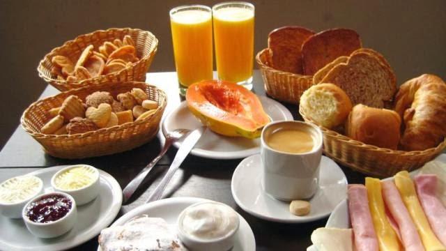 Tome seu Café da Manhã, como se vc fosse um Rei ou uma Rainha