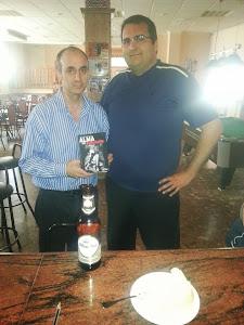Con el amigo Miguel de Peligros(Granada)