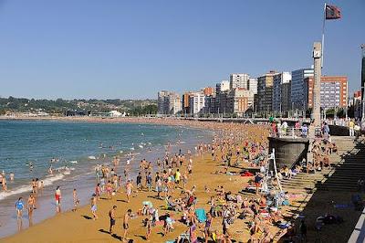 Gijón playas