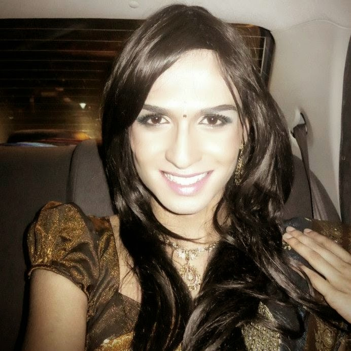 Nair Sarisha Crossdressing Model