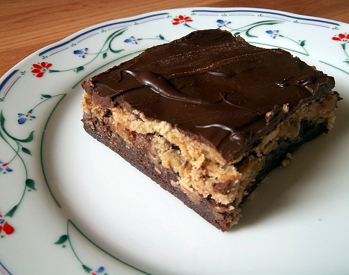 ... : Chocolate Chip Cookie Dough Brownies: Your Recipe, My Kitchen