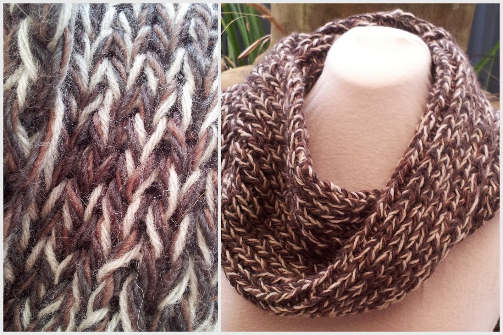 Fitzbirch crafts easiest mobius scarf repeat and cast off the first double knitted stitch continue in the usual manner bankloansurffo Image collections