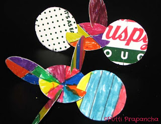 earth day recycled kids craft