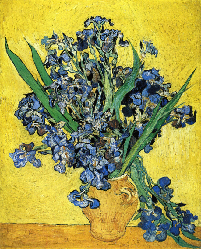 Still Life with Irises, 1890
