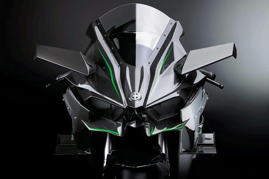 Kawasaki Ninja H2R (2015) Fairing Detail