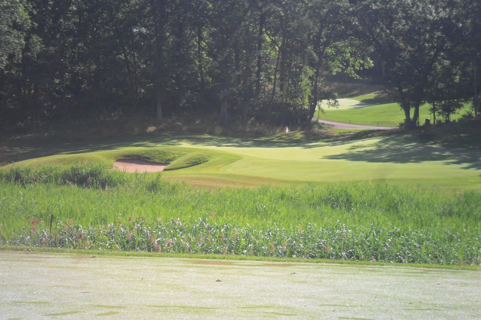 El r s sharf es un gran exclusivo campo de golf mapas for Campo de tiro las mesas