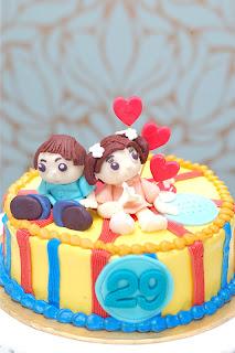 Couple Birthday Cake Pictures : Melting Bites - Something Sweet By MeltingBites: Cute ...