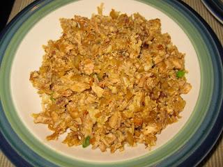 """Marlena's Menu: Chicken Fried """"Rice"""""""