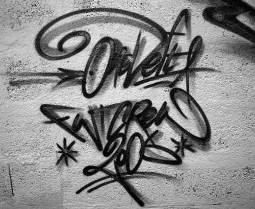 Merupakan Tullisan Tanda Tangan Nama Pembuat Graffiti