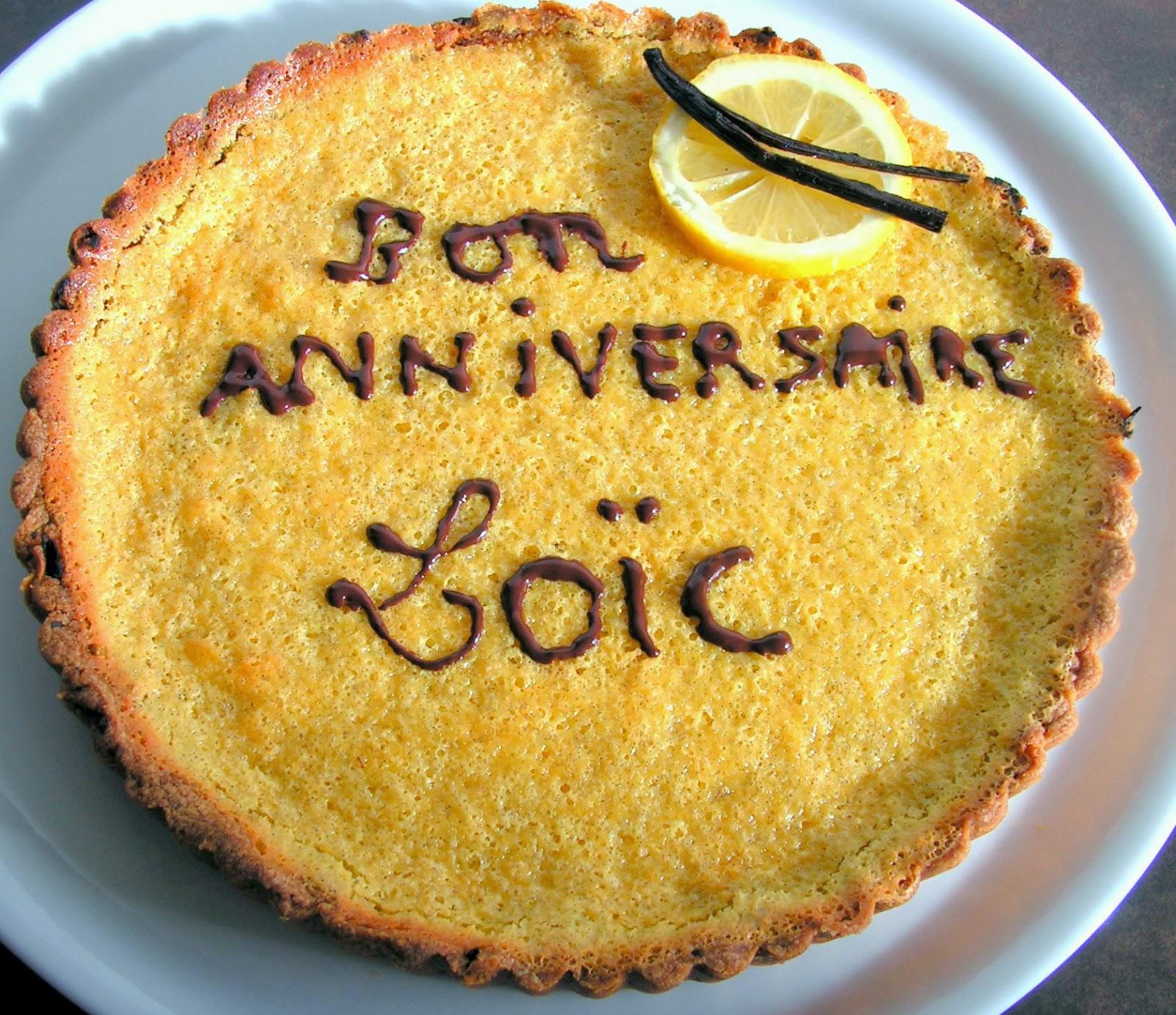Les Gourmandises De Lydie Tarte Au Citron Et A La Vanille