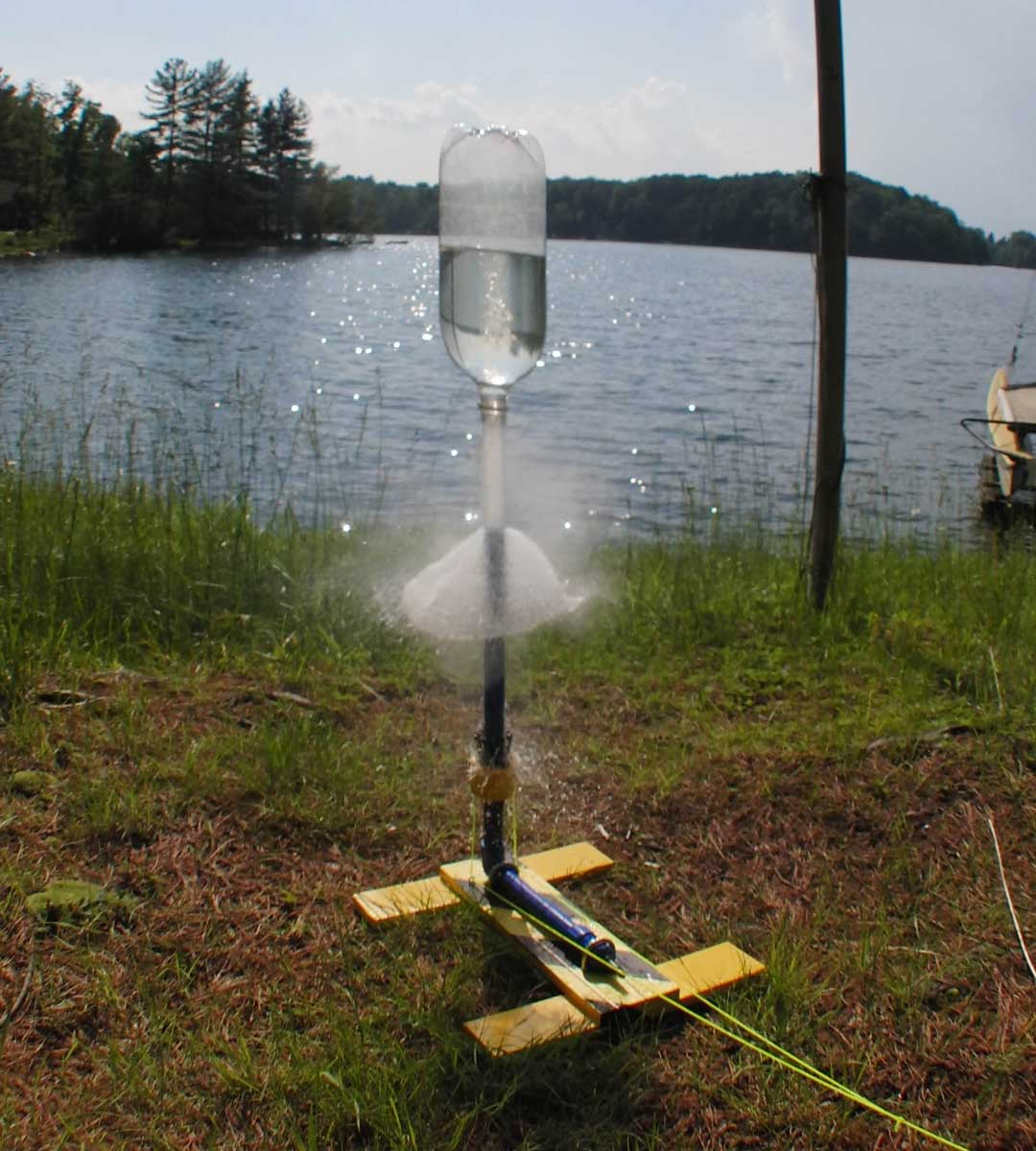 how to build a bottle rocket launcher easy