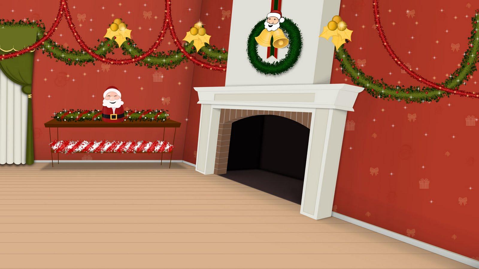 W l a d a interior casa boris en navidad hostal morrison - Una casa para navidad ...