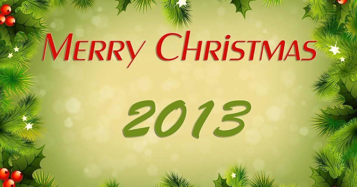 kerst wallpaper merry christmas 2013