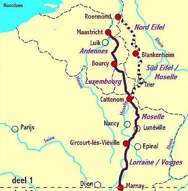 bekende rivieren in frankrijk