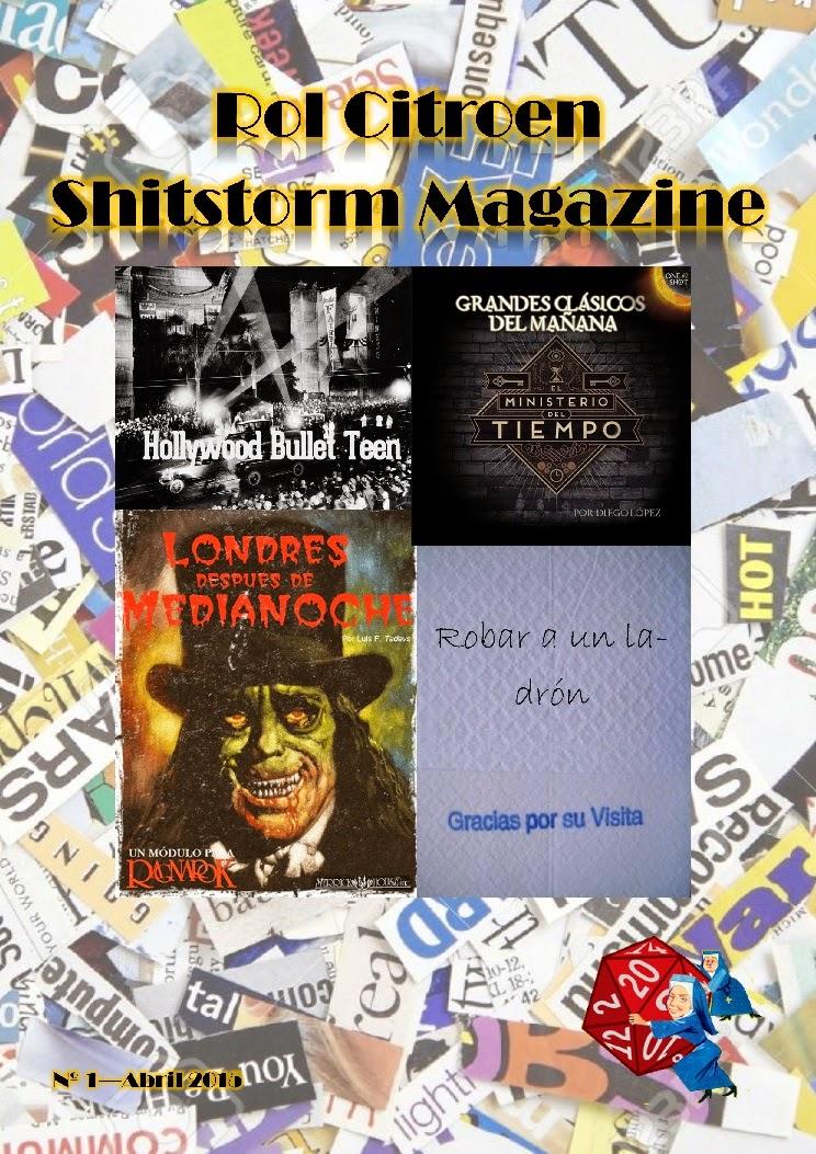 [Magazine] Rol Citroen Shitstorm Magazine