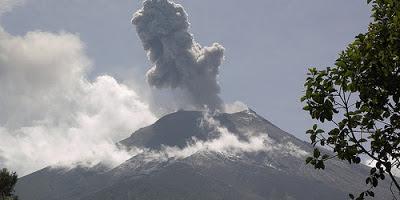 volcán Tungurahua 03 de Marzo 2013