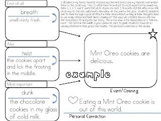 First Grade Fanatic!: O-R-E-O OPINION Writing! Yummers!