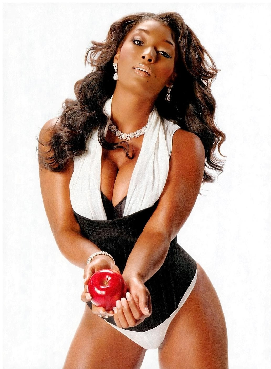 Jones Hot Pictures Plus Size Model Toccara