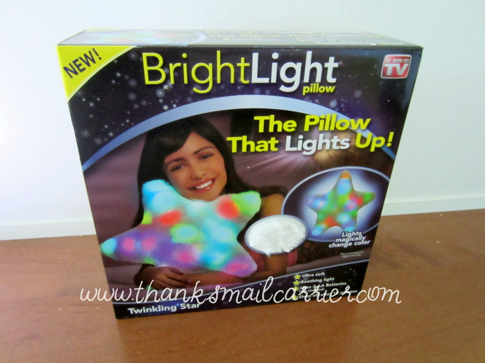 Bright Light Pillow box