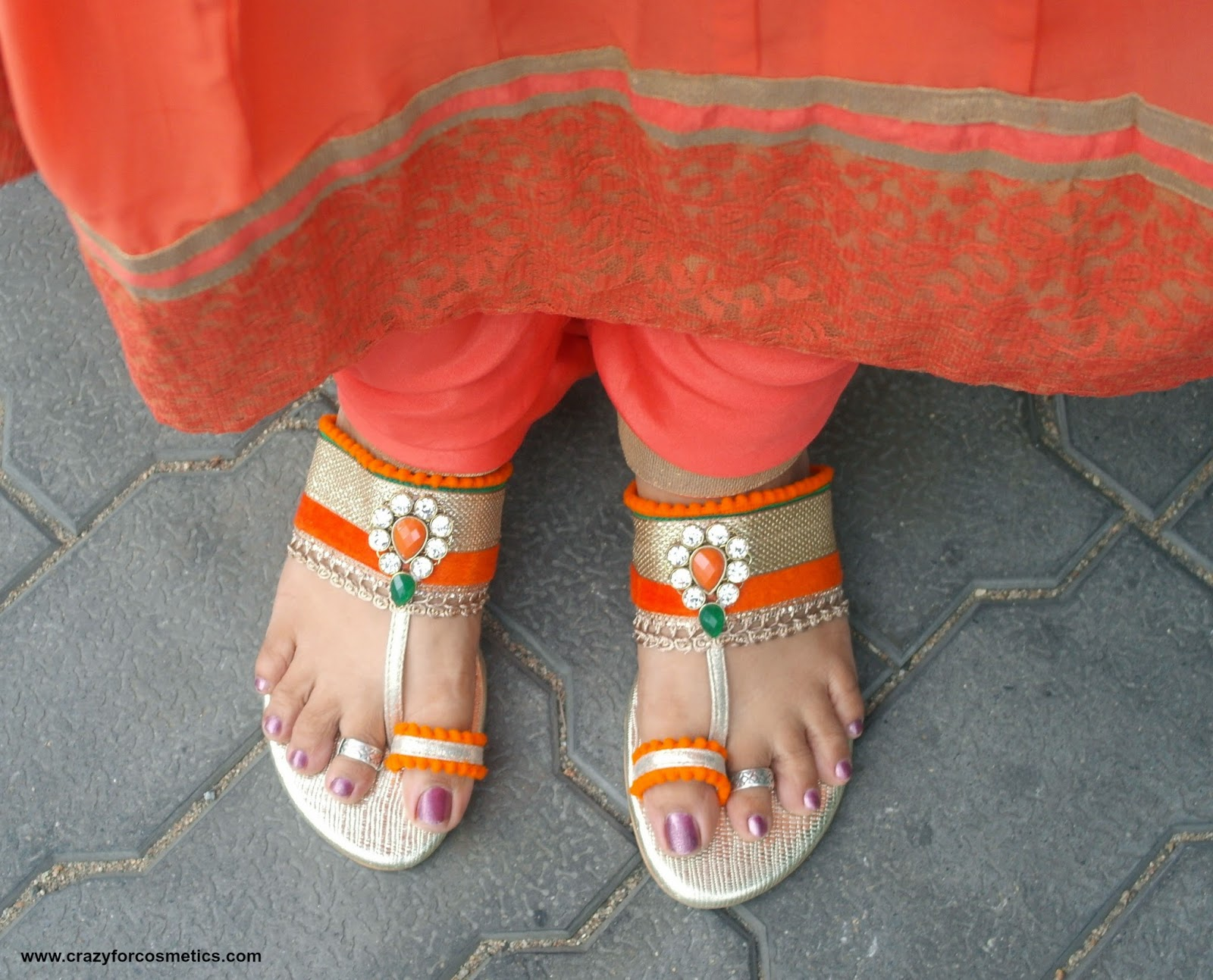 grand footwear for indian weddings