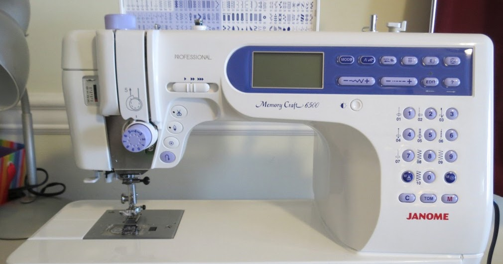 Janome Memory Craft  Qcp
