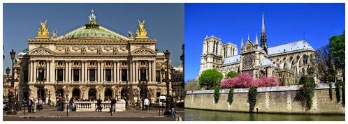 Гранд Опера и Нотр Дам де Пари France