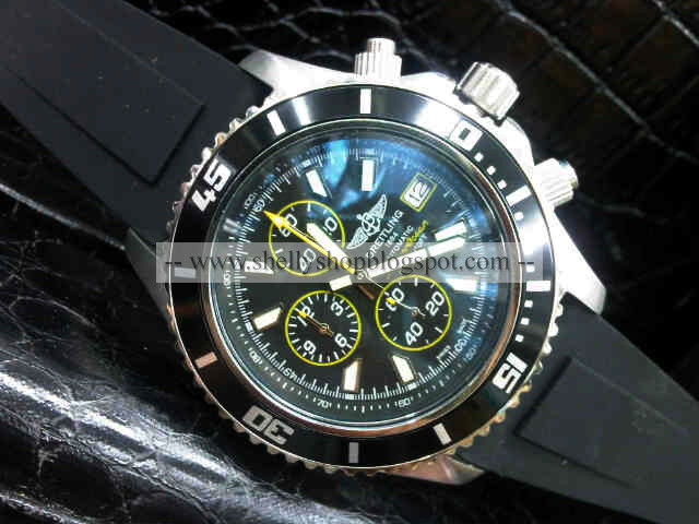 Shelly Shop Jam Tangan Breitling Superocean Chronograph