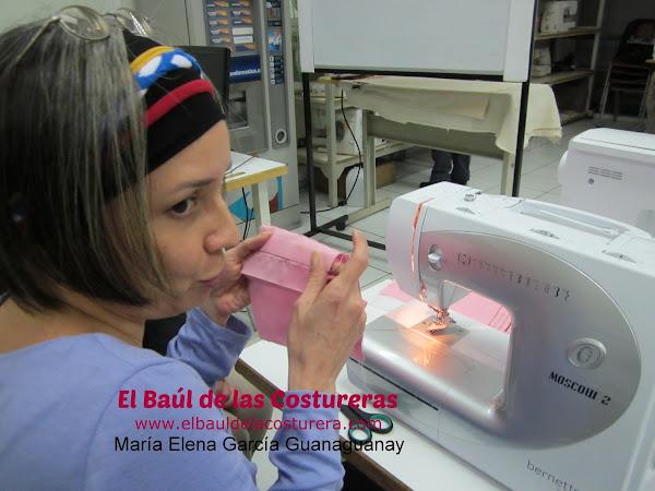 María Elena García Guanaguanay Baul Costurera en Dismaco Chile