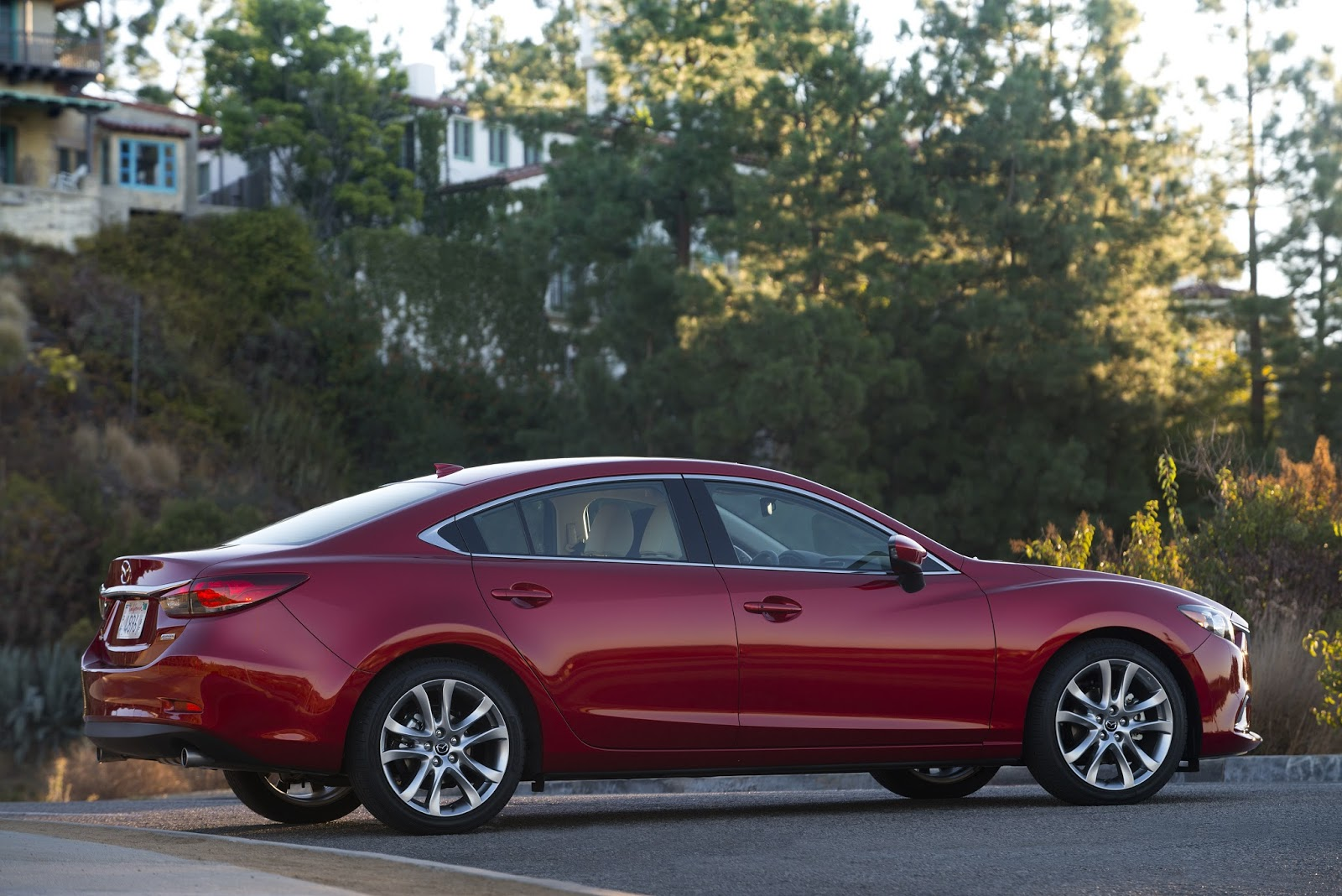 Side view of 2014 mazda 6