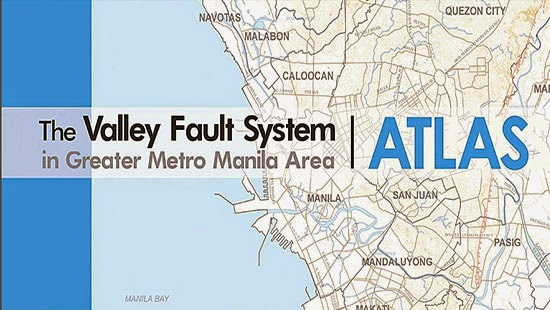 List of Areas in Metro Manila & Provinces near Fault Lines