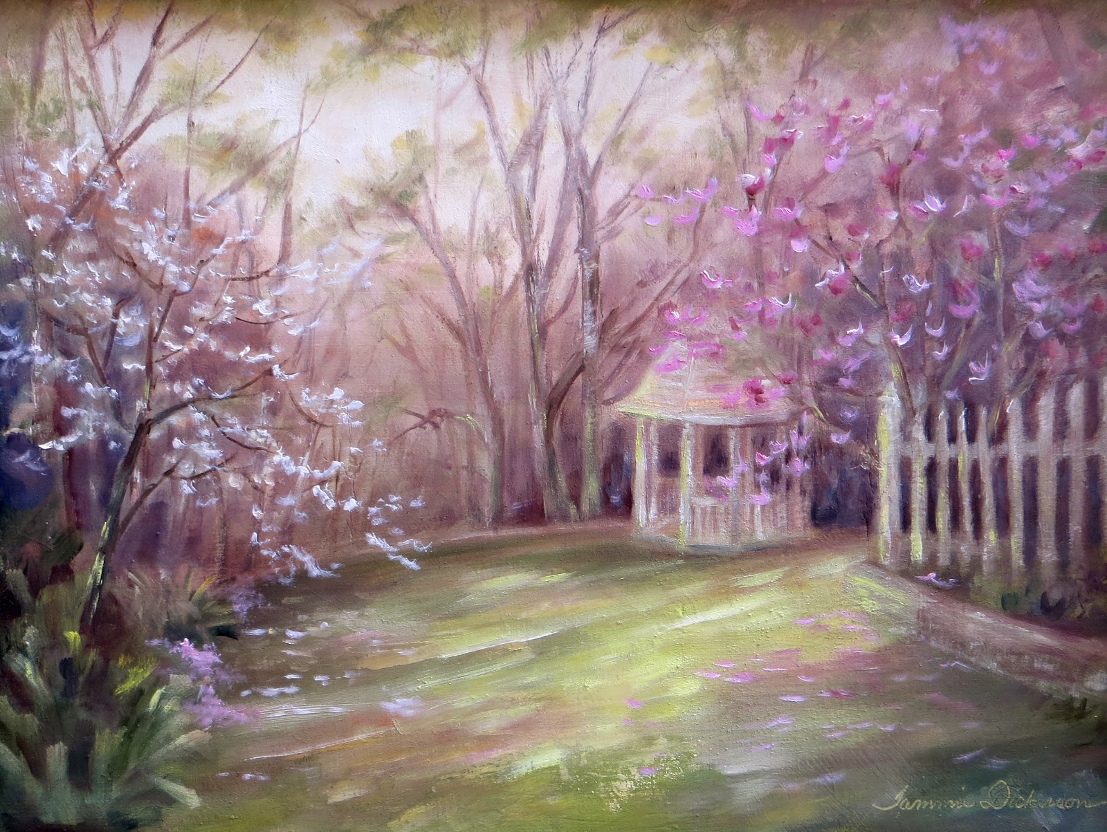 Tammie Dickerson s Artistic Journey Blooming Trees