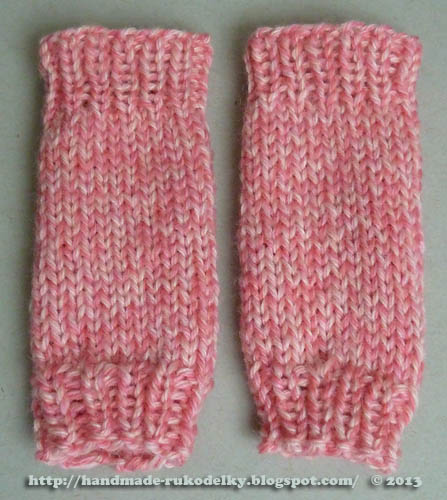 Free Knitting Patterns For Dog Leg Warmers : HAND MADE - RUKODELKY: Leg Warmers For American Girl Doll