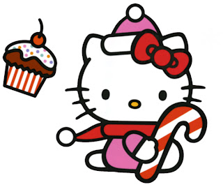 hello kitty christmas 1  gambar hello kitty terbaru