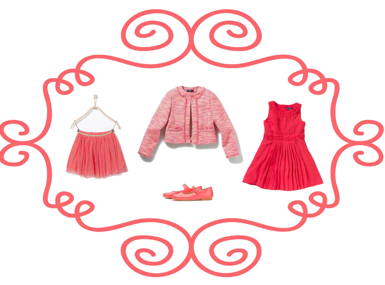 Selección moda fiesta para niña #coralina