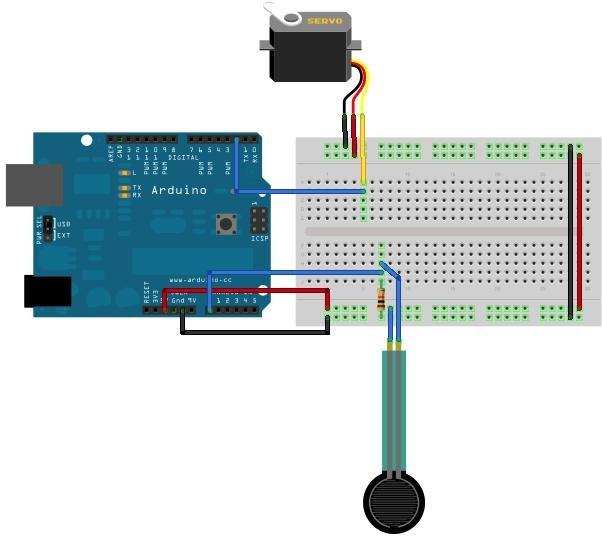 Robotics technology arduino servo control for How to program servo motor