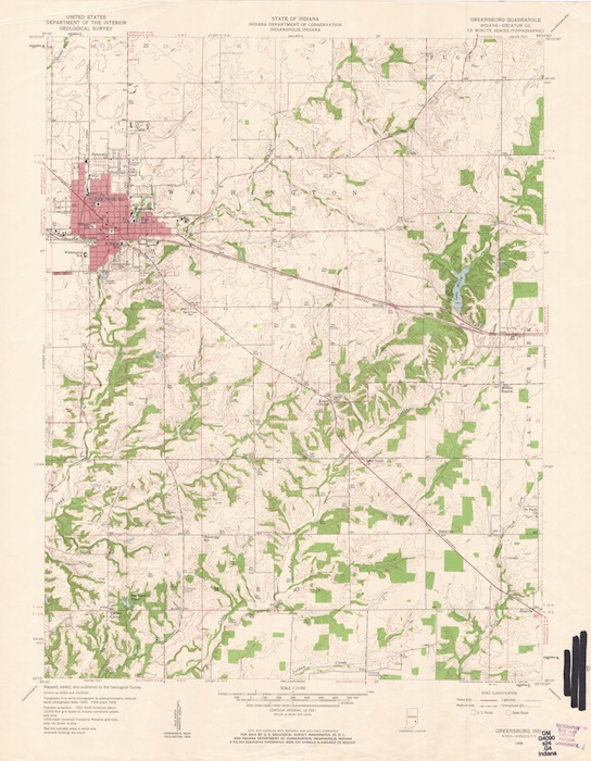 Decatur County History: Historic Map Resources on
