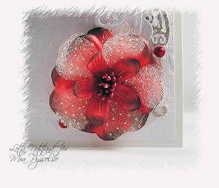 handgjord blomma