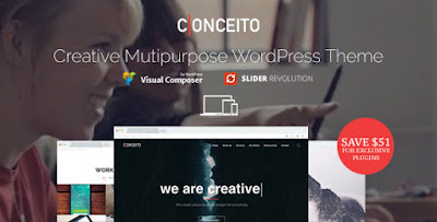 Download Conceito Creative Multipurpose One Page Parallax WP Theme