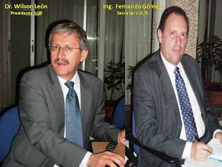 Presidente y secretario de urantia Bogotá