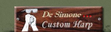 De Simone Custom Harp