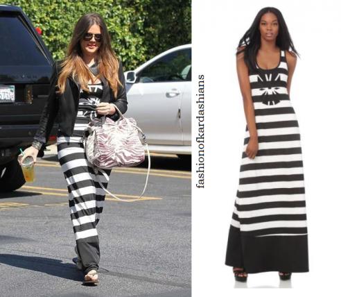 Khloe Kardashian Maxi Dresses