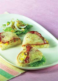 Resep Pizza Buah Zaitun Hijau