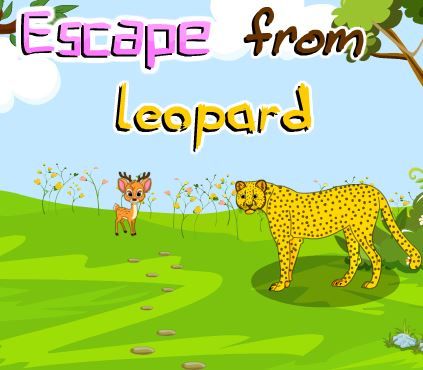 PinkyGirlGames Escape From Leopard