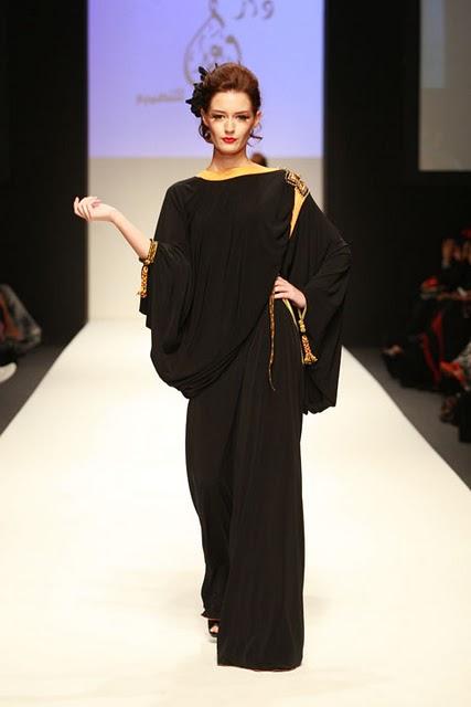 Kardashian High End Dubai Fashion Spring Summer Day Abayas 2012