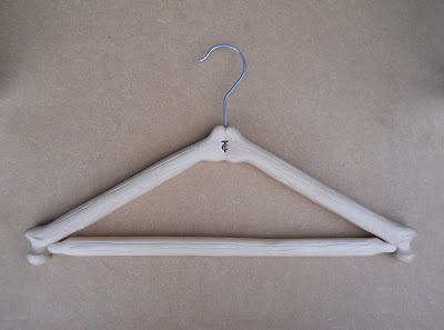 unusual coat hanger