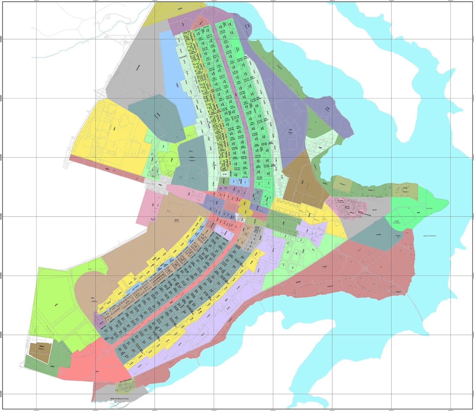 Mapas de Brasilia  DF  MapasBlog